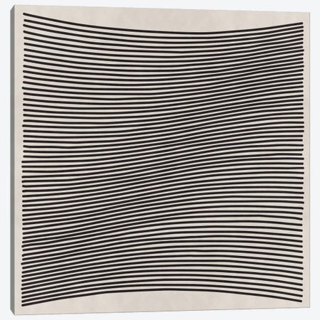 Modern Art- Wavy Lines Canvas Print #MA123} by 5by5collective Canvas Artwork