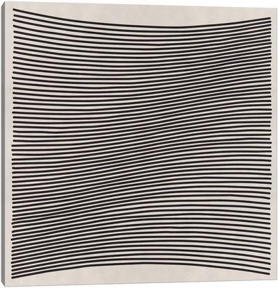 Modern Art- Wavy Lines Canvas Print #MA123