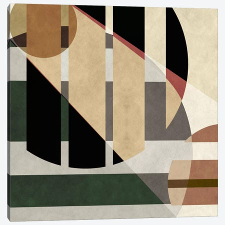Modern Art- Geometric Shapes Canvas Print #MA126} by 5by5collective Art Print
