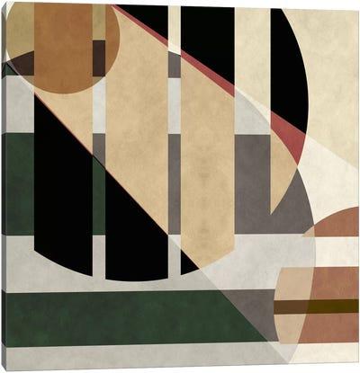 Modern Art- Geometric Shapes Canvas Art Print