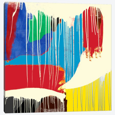 Modern Art- Weeping Colors Canvas Print #MA12} by 5by5collective Canvas Wall Art