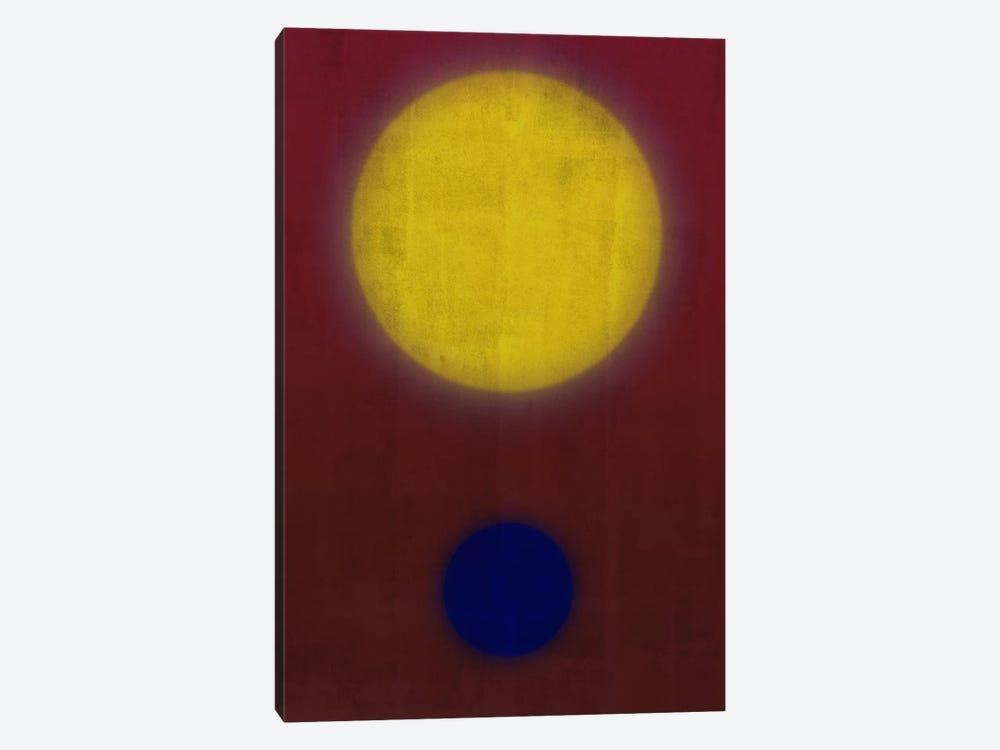 Modern Art- Earth & Sun by 5by5collective 1-piece Art Print