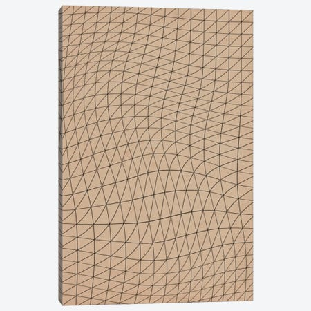 Modern Art - Wavy Lines ll Canvas Print #MA147} by 5by5collective Canvas Print