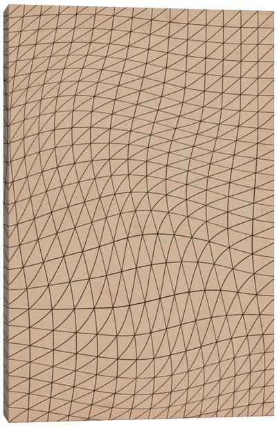 Modern Art - Wavy Lines ll Canvas Print #MA147