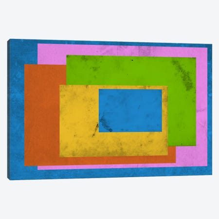Modern Art - Homage to the Rectangle (After Albers) Canvas Print #MA153} by 5by5collective Art Print