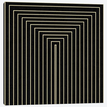 Modern Art- Clinton Plaza from Black Series Canvas Print #MA156} by 5by5collective Canvas Artwork