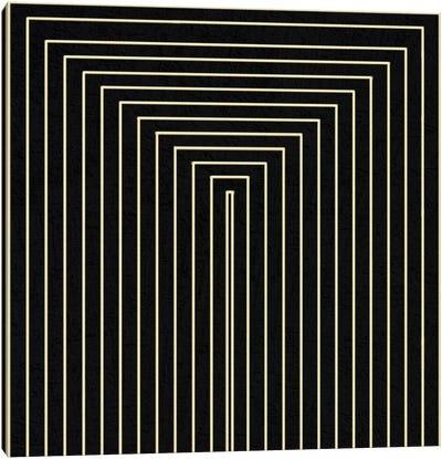 Modern Art- Clinton Plaza from Black Series Canvas Art Print