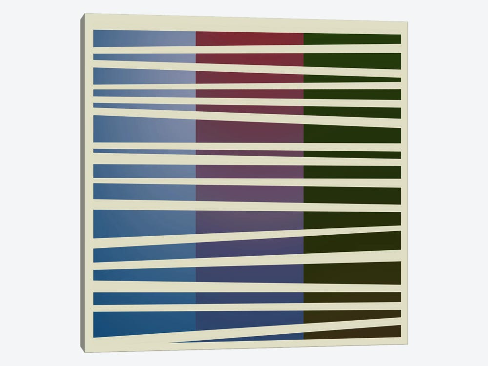 Modern Art- Dusk Concept (After Caporel) by 5by5collective 1-piece Canvas Art
