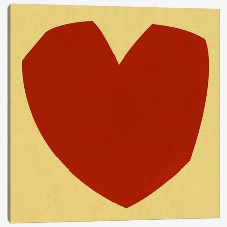 Modern Art- Cut-Out Love Canvas Print #MA168} by 5by5collective Canvas Art