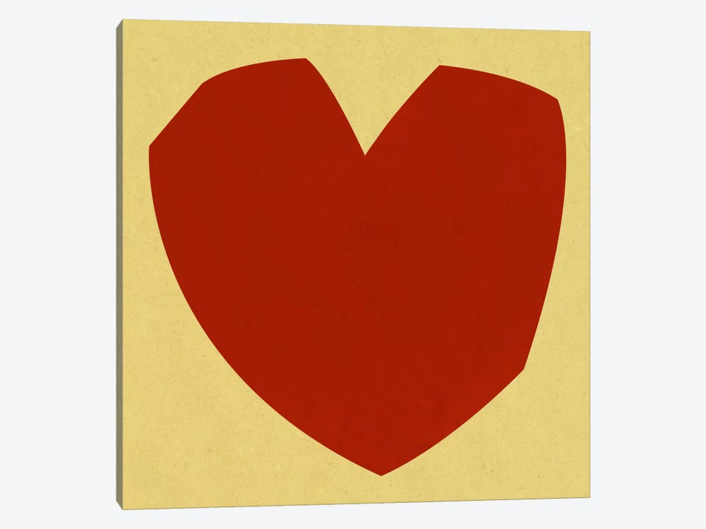 Modern Art- Cut-Out Love by 5by5collective 1-piece Canvas Artwork