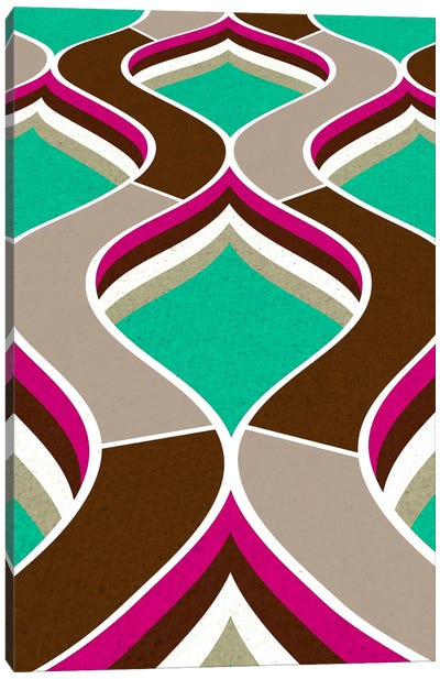 Modern Art - Flow Canvas Art Print