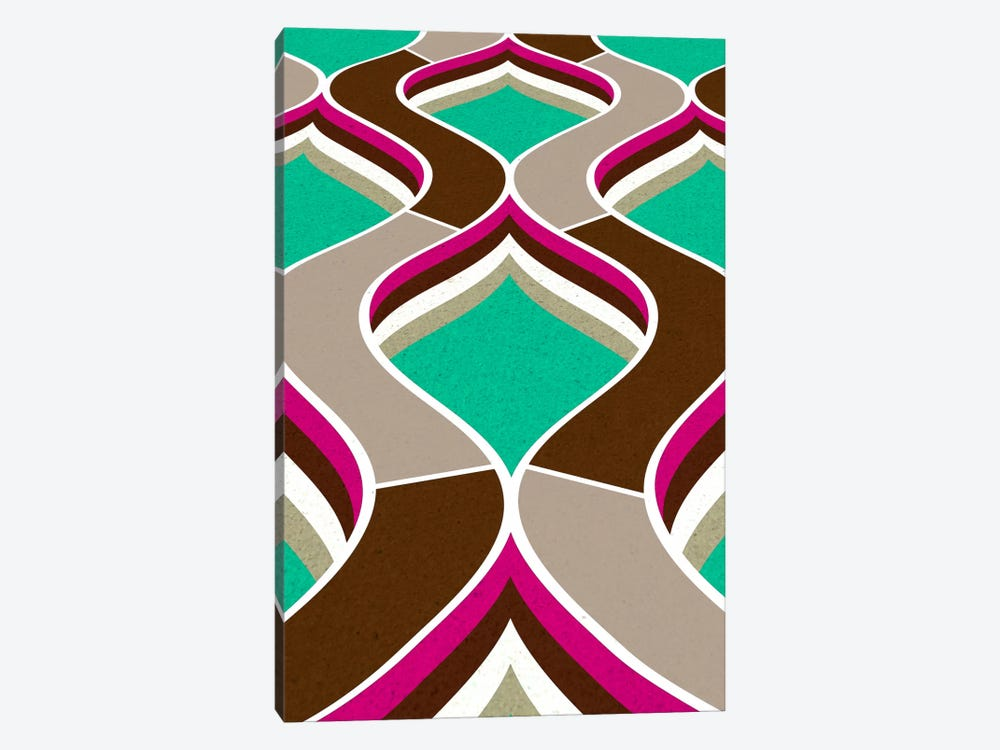Modern Art - Flow by 5by5collective 1-piece Canvas Wall Art