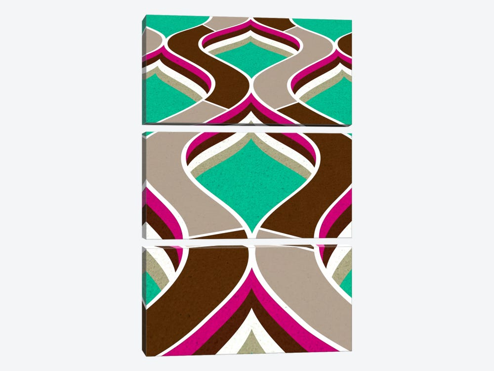 Modern Art - Flow by 5by5collective 3-piece Canvas Art