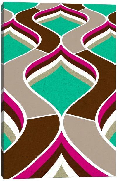 Modern Art - Flow Canvas Art Print