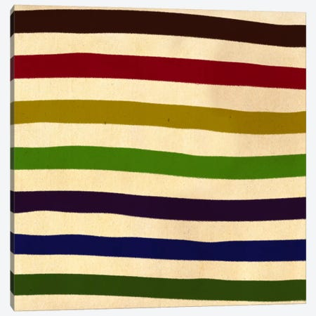 Modern Art- Earn Your Stripes (After Caporel) Canvas Print #MA183} by 5by5collective Canvas Wall Art