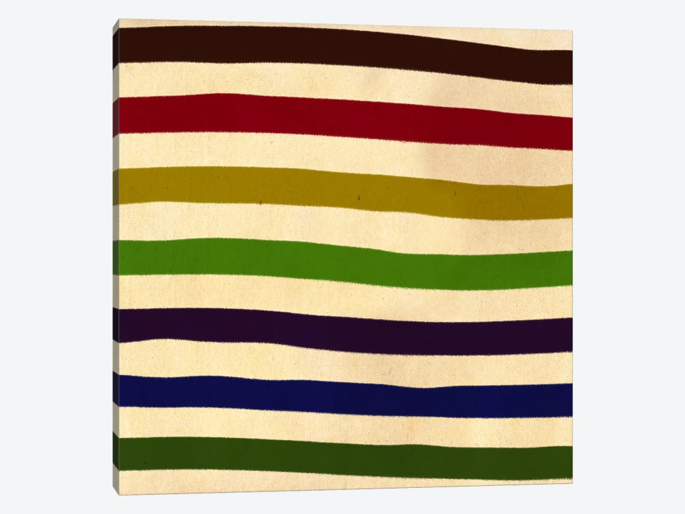 Modern Art- Earn Your Stripes (After Caporel) by 5by5collective 1-piece Art Print