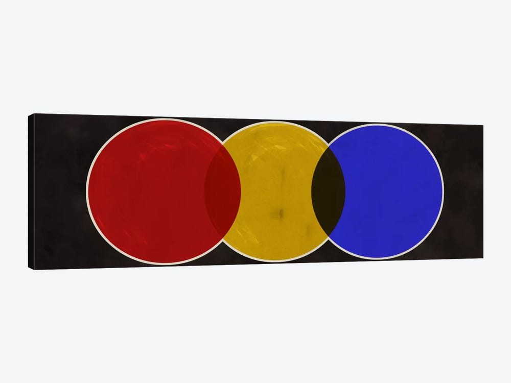 Modern Art- Street Light by 5by5collective 1-piece Canvas Print