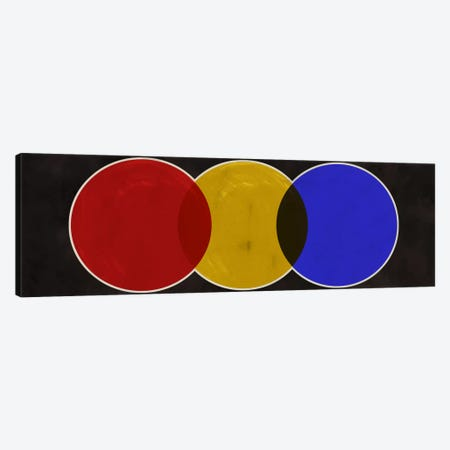 Modern Art- Street Light 3-Piece Canvas #MA196} by 5by5collective Canvas Art