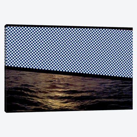 Modern Art - Sunset at Sea Canvas Print #MA209} by 5by5collective Canvas Art Print