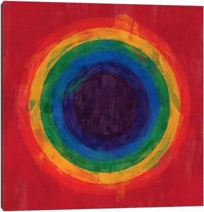 Modern Art- Rainbow Tunnel (After Suggs) Canvas Art Print