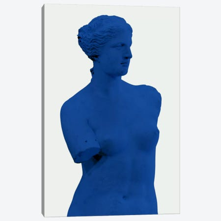 Modern Art - Venus de Milo Blue Canvas Print #MA258} by 5by5collective Canvas Wall Art
