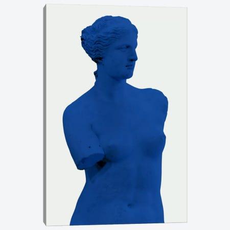 Modern Art - Venus de Milo Blue Canvas Print #MA258} by 5by5collective Canvas Wall Art