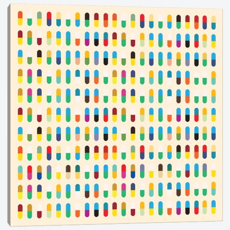Modern Art- 10 Capsules Canvas Print #MA27} by 5by5collective Canvas Art