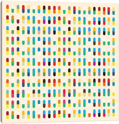 Modern Art- 10 Capsules Canvas Art Print
