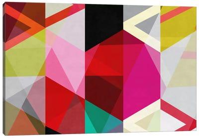 Modern Art - View Through a Kaleidoscope Canvas Art Print