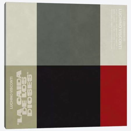 """Modern Art- """"La Caida de Los Dioses"""" Canvas Print #MA298} by 5by5collective Canvas Artwork"""