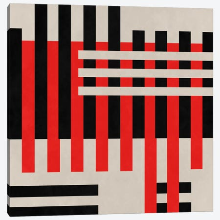 Modern Art- Intersection Canvas Print #MA299} by 5by5collective Canvas Artwork