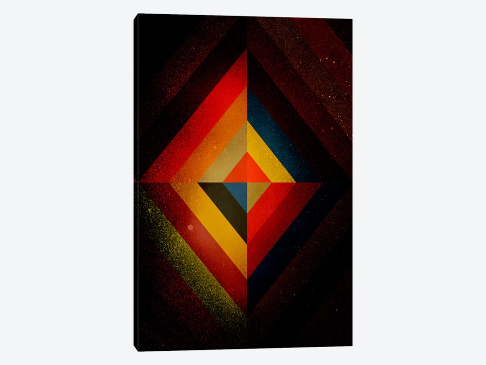 Mid Century Modern Art - Diamond Color Composition ll (After Kandisnky) by 5by5collective 1-piece Art Print