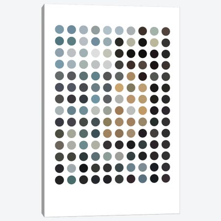 Modern Art - Earthy Dots Canvas Print #MA310} by 5by5collective Canvas Print