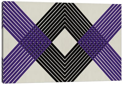 Modern Art - Intersecting Lozenge Canvas Art Print