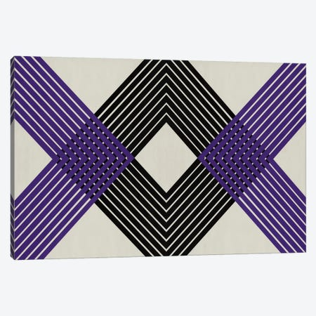 Modern Art - Intersecting Lozenge 3-Piece Canvas #MA315} by 5by5collective Canvas Artwork