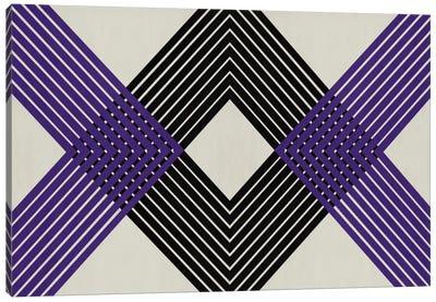 Modern Art - Intersecting Lozenge Canvas Art Print