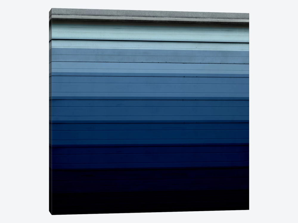 Modern Art- Shade of Blue by 5by5collective 1-piece Canvas Wall Art