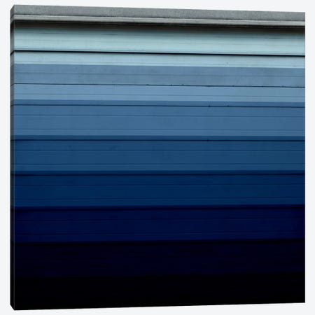 Modern Art- Shade of Blue Canvas Print #MA321} by 5by5collective Canvas Wall Art