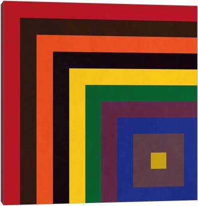 Modern Art- Color Stacks Canvas Print #MA325