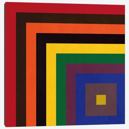 Modern Art- Color Stacks Canvas Print #MA325} by 5by5collective Canvas Print
