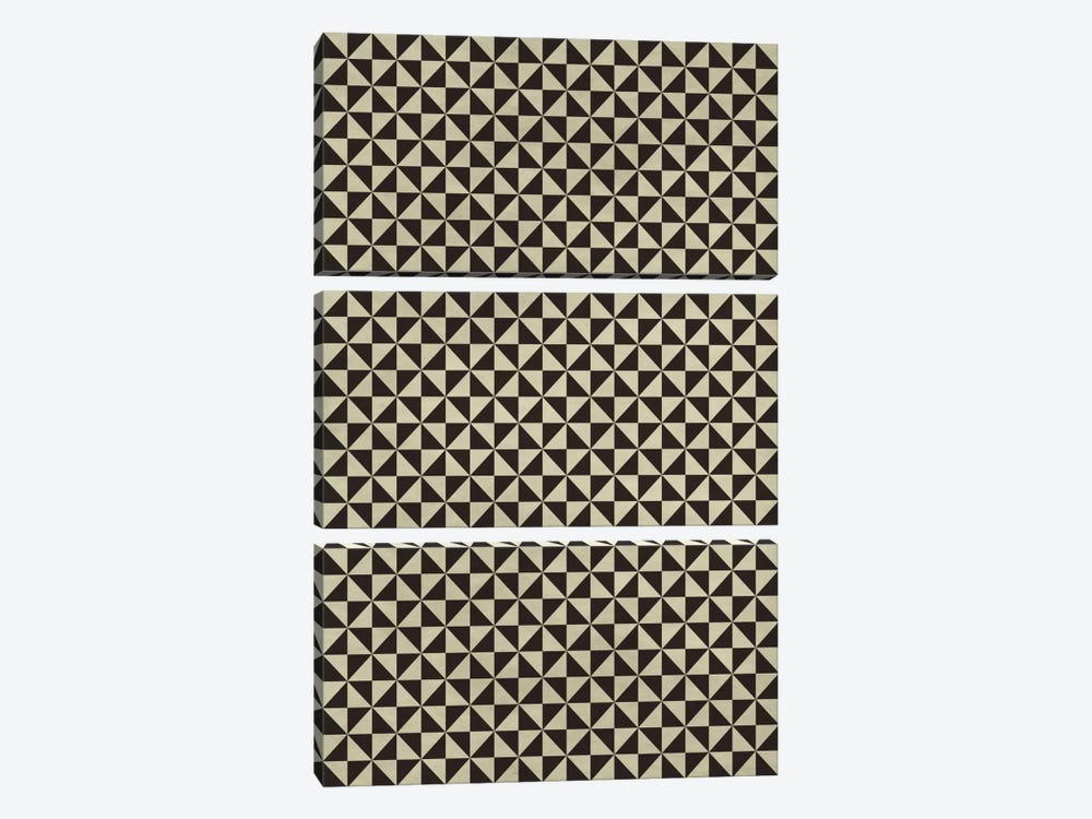 Modern Art - Modern Pattern by 5by5collective 3-piece Canvas Wall Art