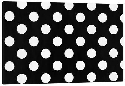 Modern Art - Polka Dots Canvas Art Print