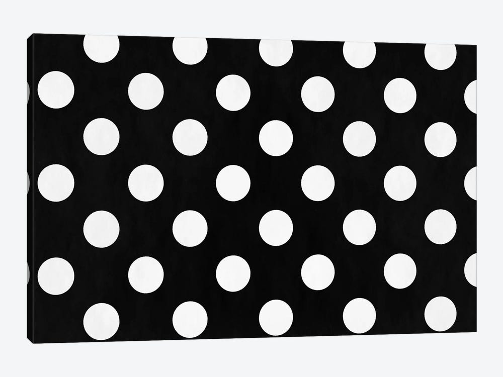 Modern Art - Polka Dots by 5by5collective 1-piece Canvas Artwork