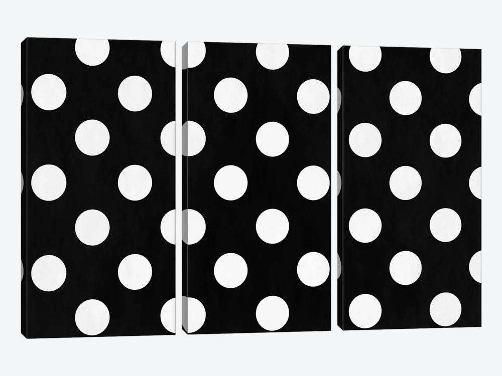 Modern Art - Polka Dots by 5by5collective 3-piece Canvas Art