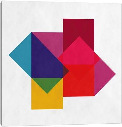 Modern Art- Study of Colors Canvas Art Print
