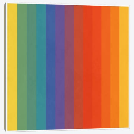 Modern Art- Pride Pattern Canvas Print #MA351} by 5by5collective Art Print