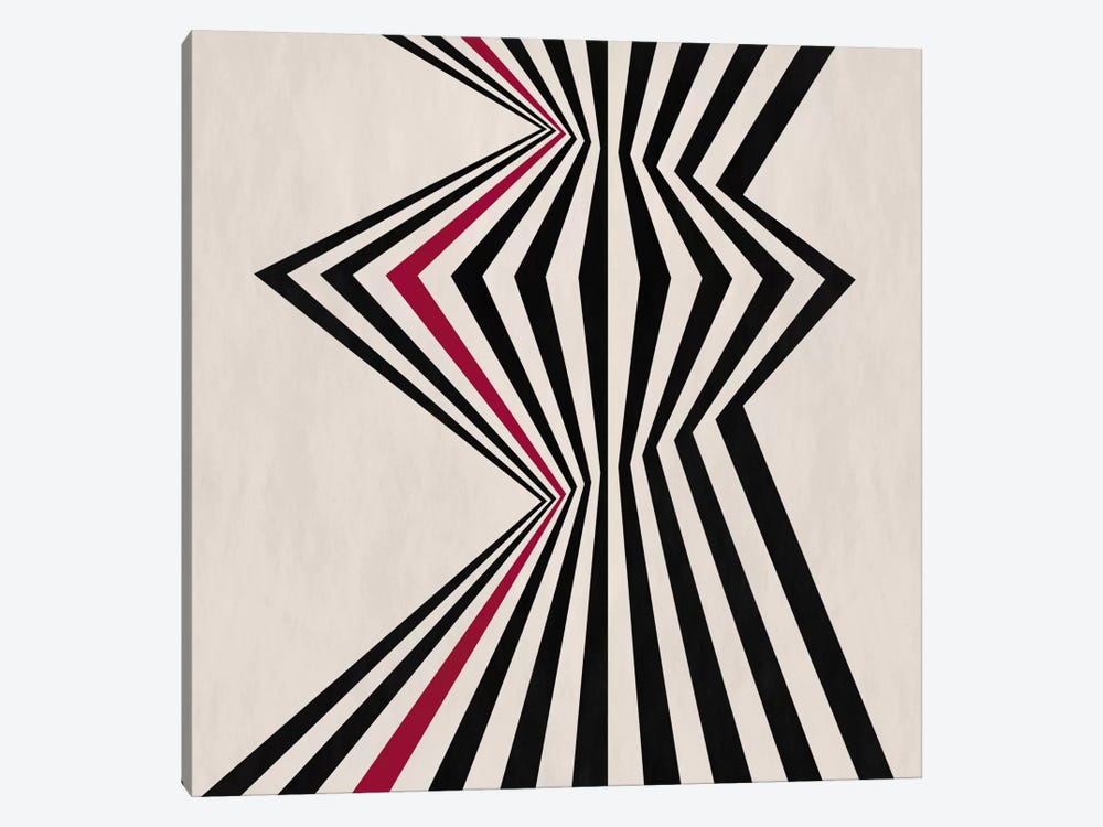Modern Art- Fragment by 5by5collective 1-piece Canvas Print