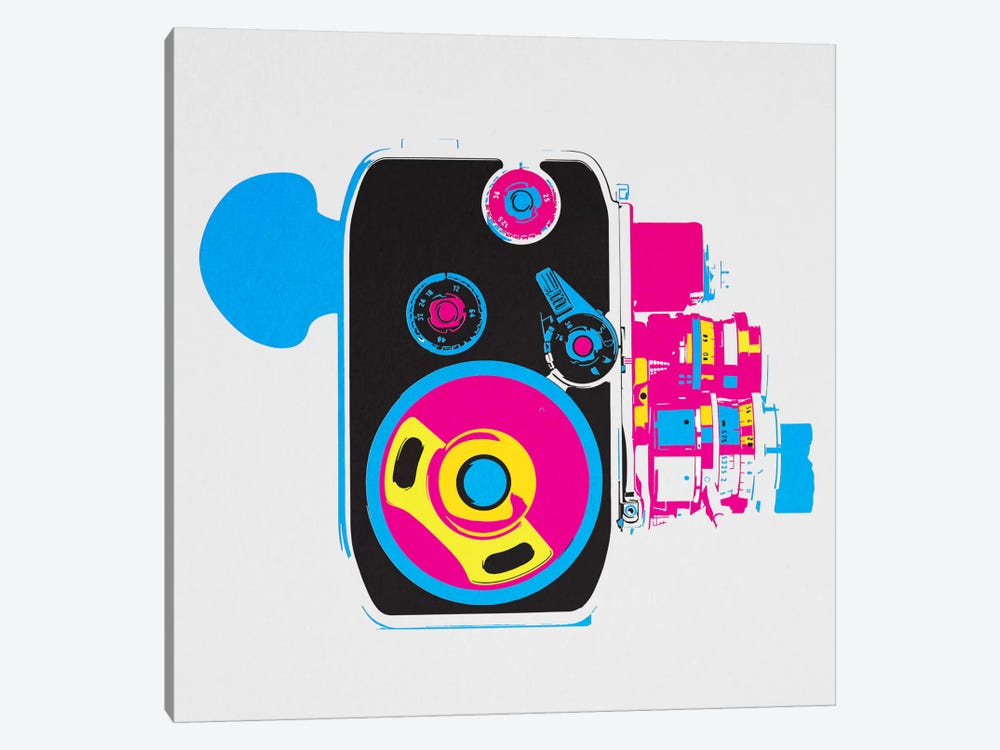 Modern Art- Music Box by 5by5collective 1-piece Canvas Artwork