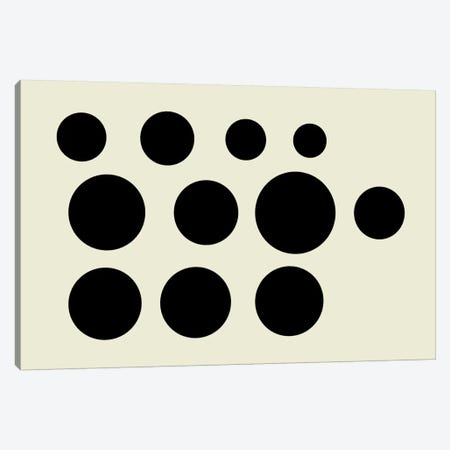 Modern Art - Dalmatian Canvas Print #MA385} by 5by5collective Canvas Art Print