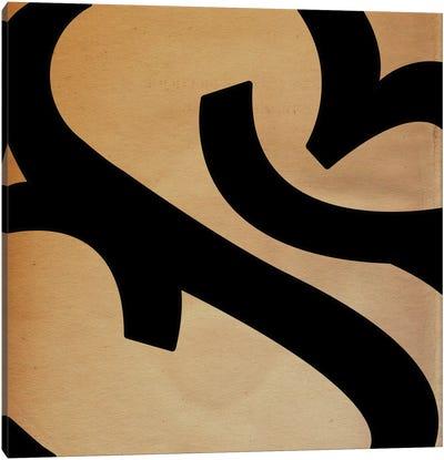 Modern Art- Seal Emblem Canvas Print #MA401